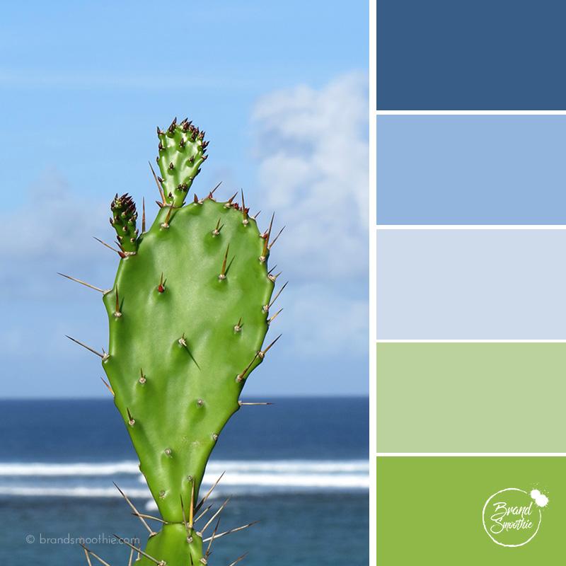 BS colour palette sea