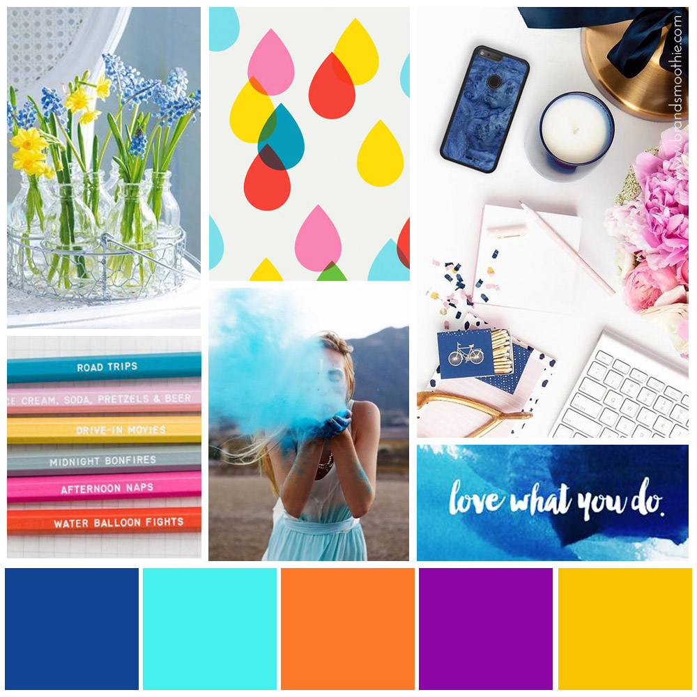 Moodboard Design your profit now-palette