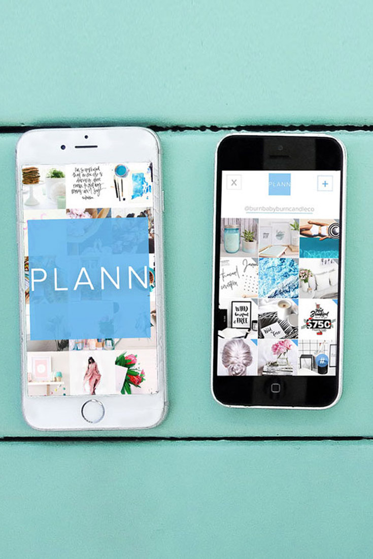 Brand Smoothie uses Plann app for Instagram post scheduling