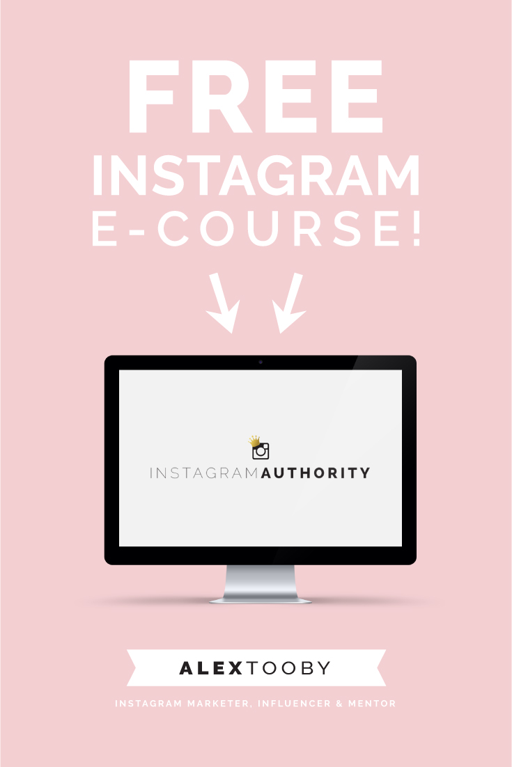Alex Tooby Instagram free course
