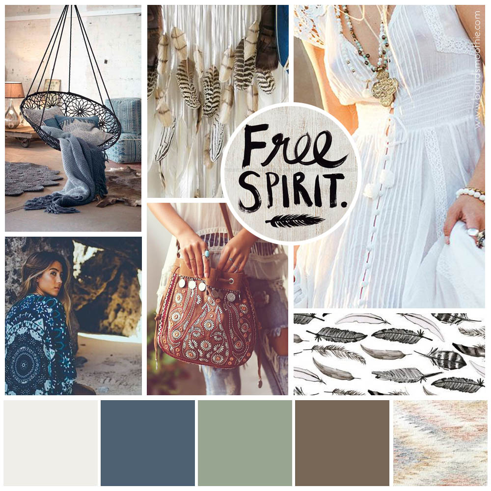 Wild Moonfire moodboard by Brand Smoothie