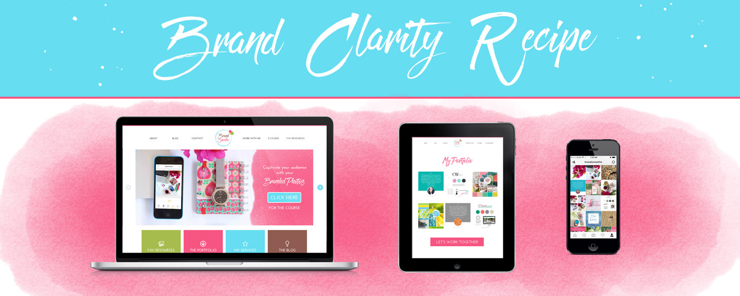 BS brand clarity recipe website review