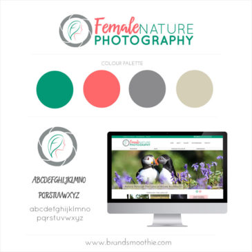 Female Nature Photography Brand Style Board by Brand Smoothie