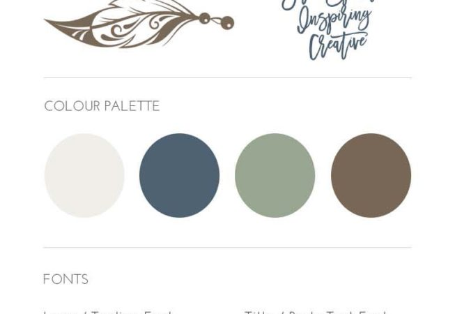 Wild Moonfire brand style board and moodboard by Brand Smoothie