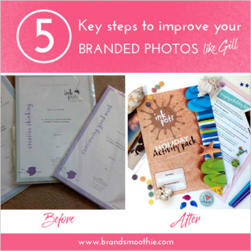 5 key steps to improve your branded photos like Gill