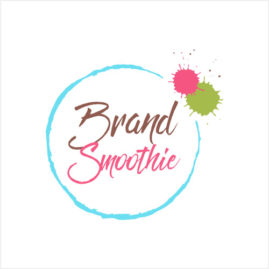 Brand Smoothie logo in branding portfolio