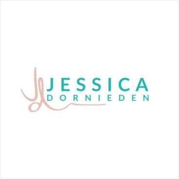 Jessica Dornieden logo branding bliss by Brand Smoothie