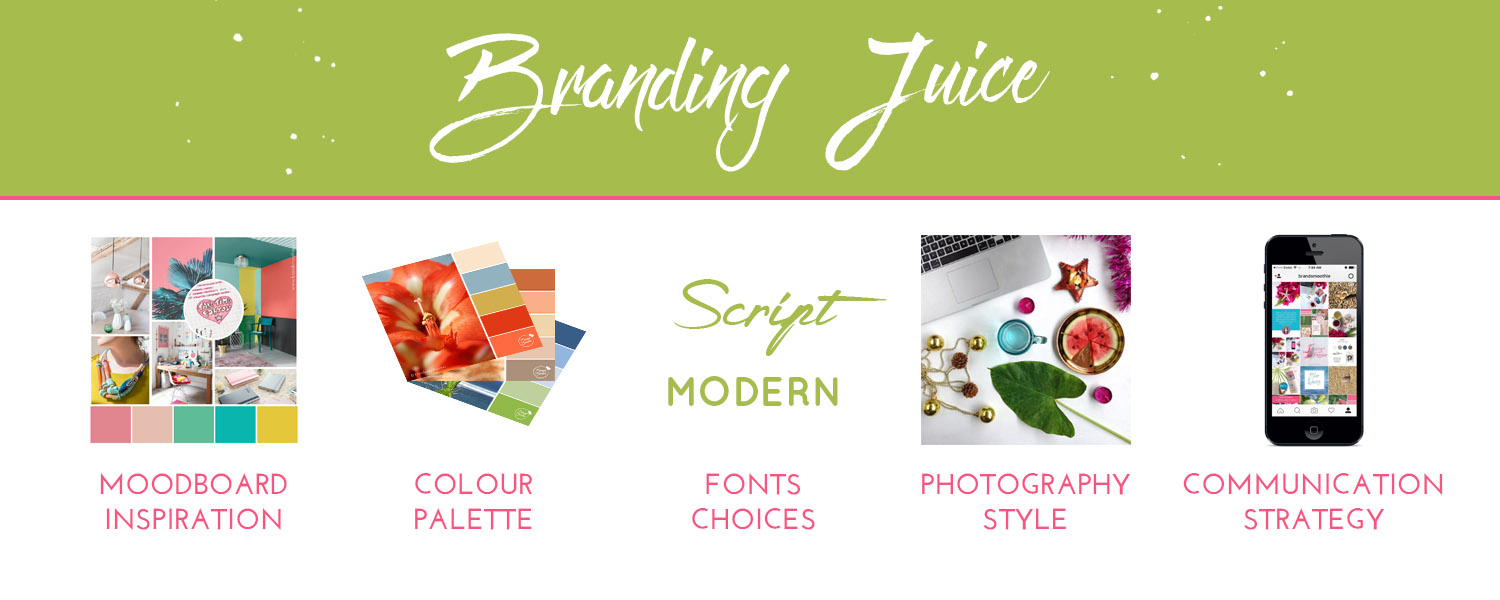 Brand Smoothie branding juice package